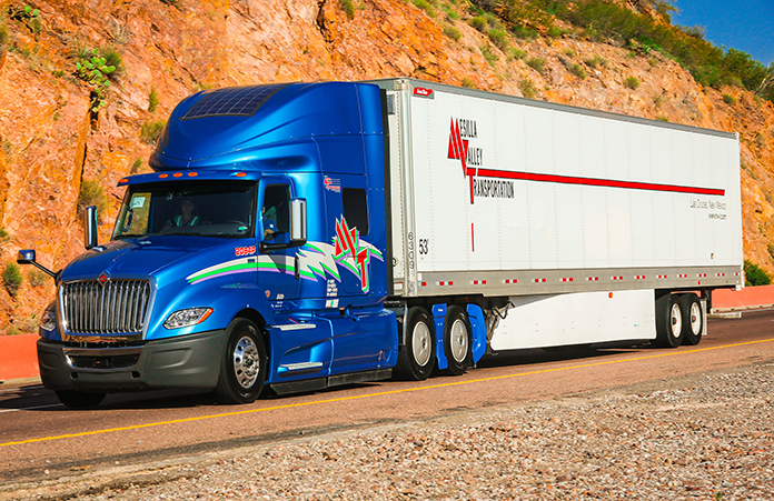 eNow sees solar playing a larger role in trucking going forward