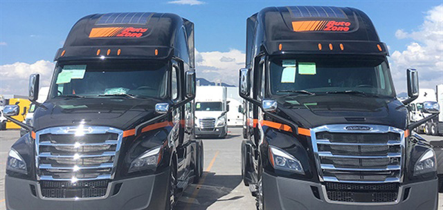 Freightliner Offers Enow Solar Charging On Cascadia