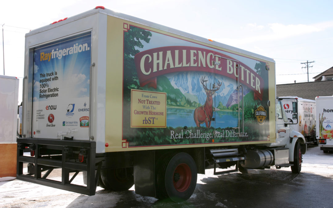 eNow Powers Zero-Emissions Refrigerated Truck