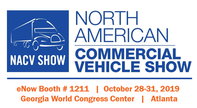 eNow to exhibit at NACV – America's #1 Truck Fleet Show