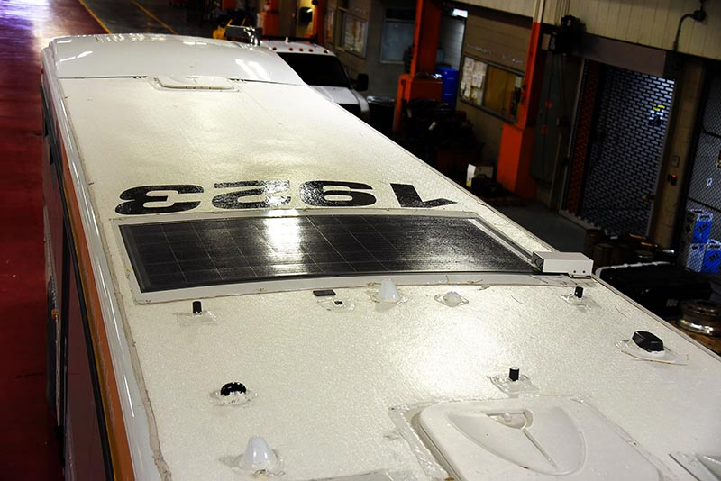 RIPTA adds eNow Solar Systems to Cut Battery and Maintenance Costs